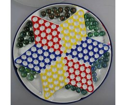 Traditional Chinese Checkers Game