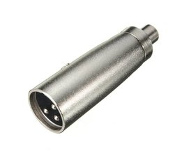 3P XLR Male Plug To Female Microphone Amplifier