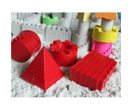 Set Of 4 Sandcastle Forms