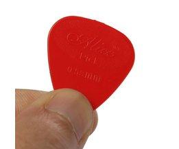 10 Pieces Guitar Picks 0,58Mm