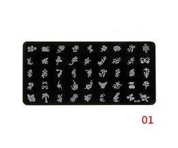 Set Nail Art Stamps
