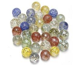 Aquarium Glass Marbles 10 Pieces