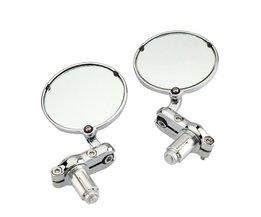 Universal Motorcycle Mirror Set