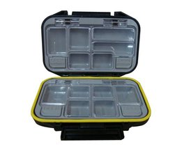 Portable Tackle Box With 12 Compartments