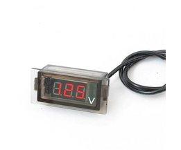 Digital Voltmeter In Car