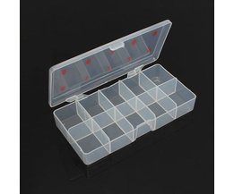 Storage Box For Beads, Rhinestones Or Nail Decorations