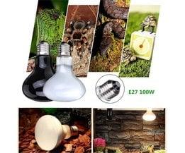 100W UVA Heat Lamp For Terrarium