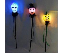 Light Stick With Halloween Theme