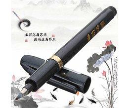 Chinese Calligraphy Black