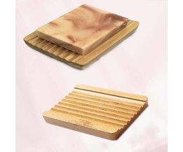 Wood Soap Holder Model Washboard