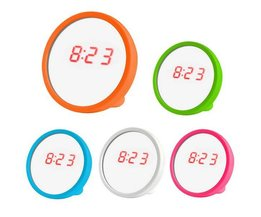 Multifunction Clock And Cosmetic Mirror