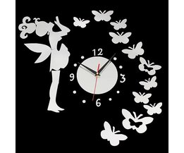 Do-It-Yourself Wall Sticker Clock