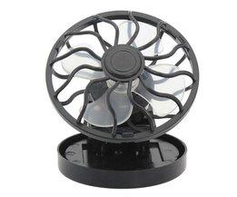Mini Fan On Solar Energy