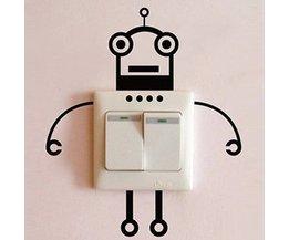 Wall Sticker Robot