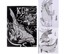 Book With Tattoo Sketches