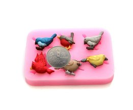 Chocolate Molds Birds