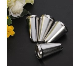 4 Nozzles For Pastry Bag