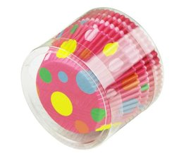 Colorful Paper Cupcake Cups 100 Pieces