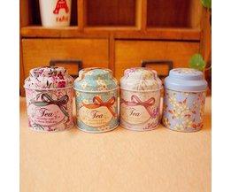 Teabox Mini With Floral Imprint