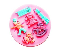 Silicone Cake Pan With Cute Figures