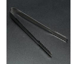 Beautiful Stainless Steel Barbecue Tongs