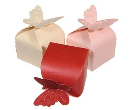 Gift Box With Butterfly