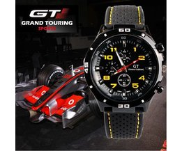 Black Grand Touring Sport Watches