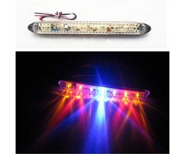 LED Brake Light For Eg Motor With Color Red, Yellow And Blue