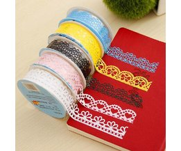 Lace Ribbon Sticker