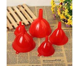 Plastic Funnel Set 5 Pieces