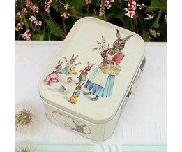 Beautifully Retro Tin With Peter Rabbit