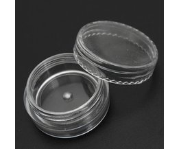 Cosmetic Plastic Container 3Ml