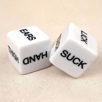 Erotic Dice With Humor