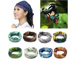 Multifunctional Polyester Scarf