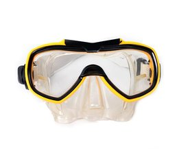 Blue Or Yellow Dive Mask