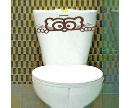 Sticker WC Glasses
