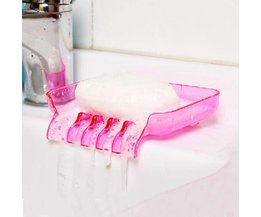 Shower Soap Holder With Suction Cups