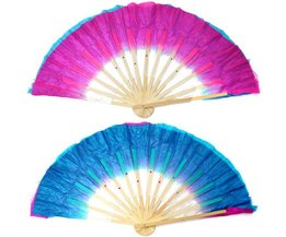 Tufted Handmade Chinese Fan