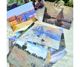 30 Monet Postcards