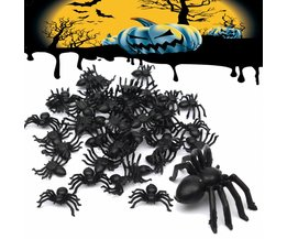 Toy Spiders 50 Pieces