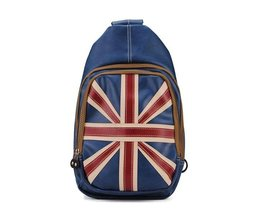 Bag With British Flag PU Leather