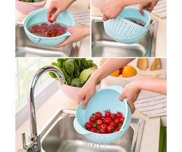 2-In-1 Vegetable And Fruit Basket For The Kitchen