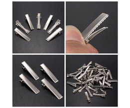Metal Hair Clips 50 Pieces