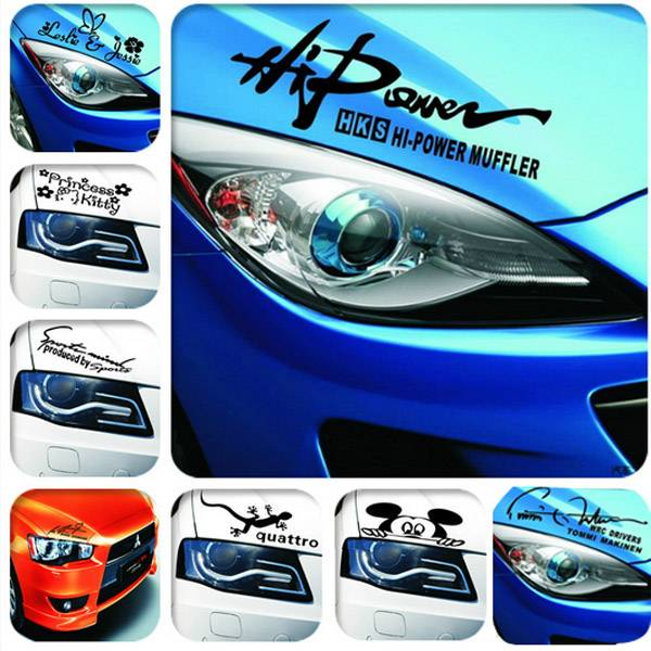 Headlight Sticker For Your Car Buy Online Cheapest Myxl Gadget