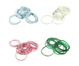 Colored Mix Of Hair Rubber Bands (1000)