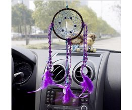 Purple Dreamcatcher For Above Your Bed