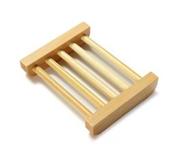 Eco-Friendly Bamboo Soap Dish
