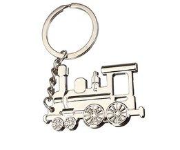 Locomotive Keychain