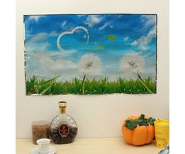 Wall Sticker With Dandelions