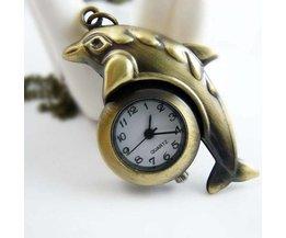 Pocket Watch Dolphin